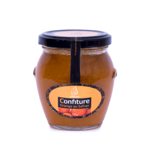 Confiture Bio d'orange au safran